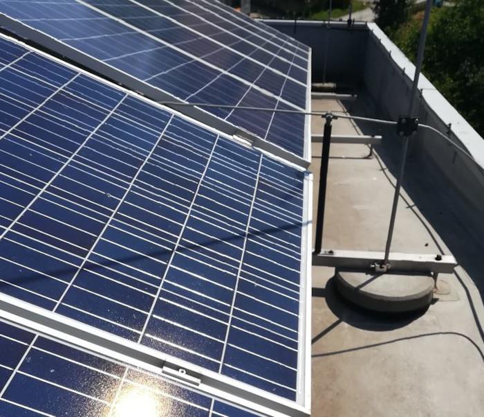 sjenčenje na solarnom panelu primjer